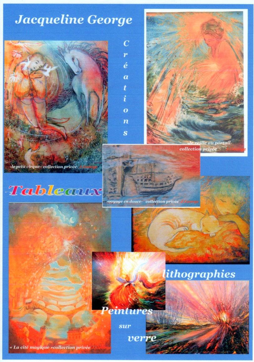 Jacqueline George Artiste Peintre